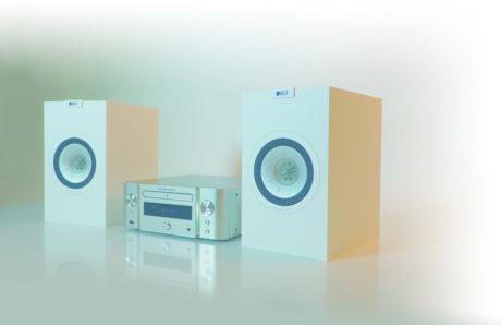 Marantz M-CR611 ja KEF Q150