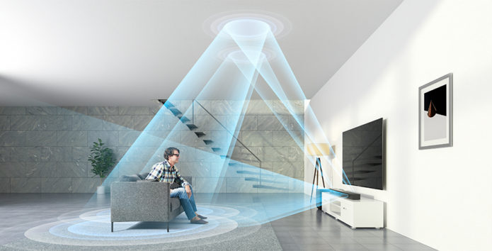 3 Dolby Atmos -soundbaria