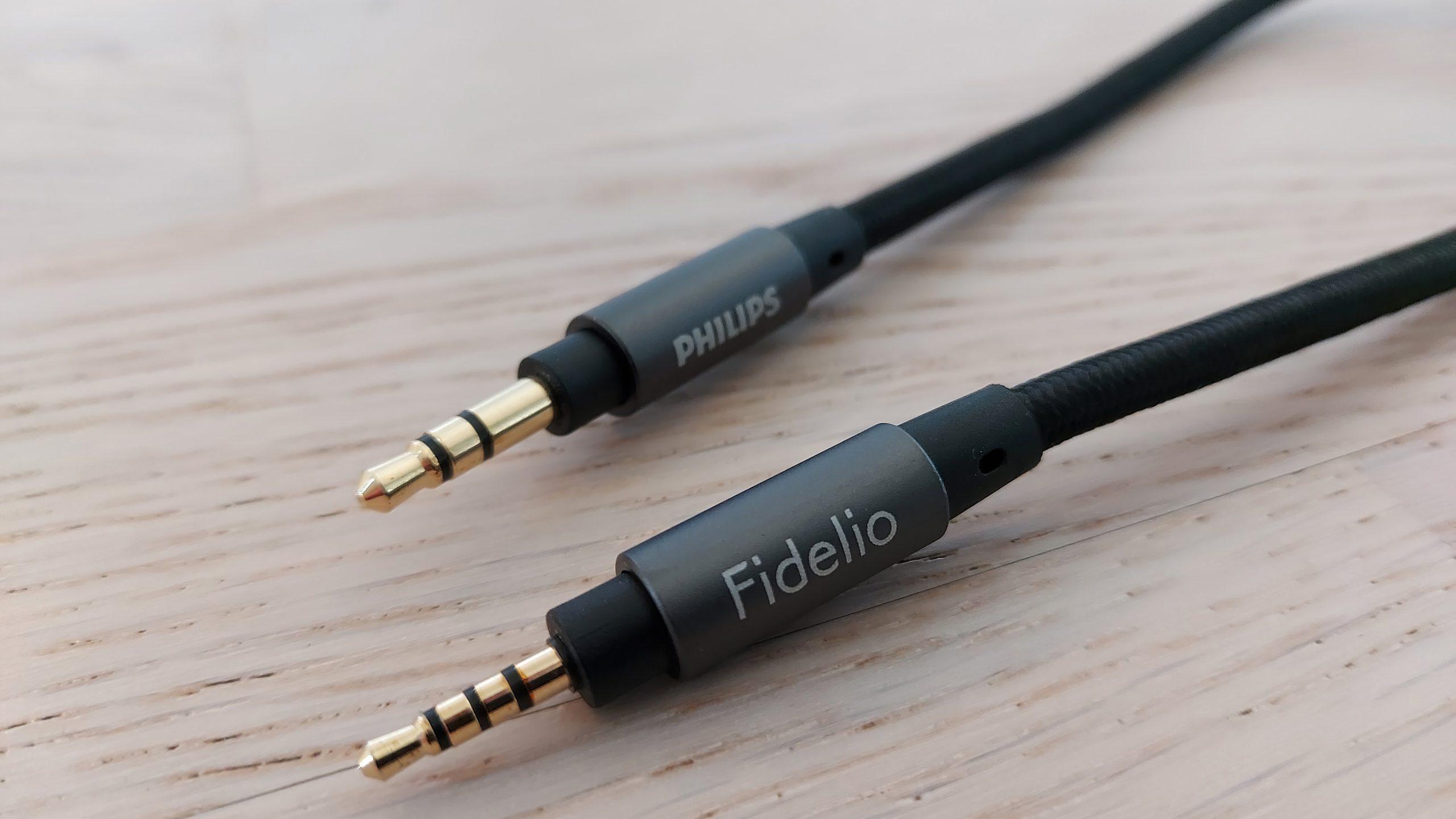 Philips Fidelio X3 cables