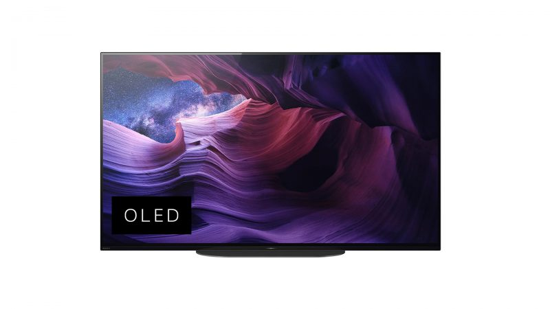 Sony KD-48A9 OLED front
