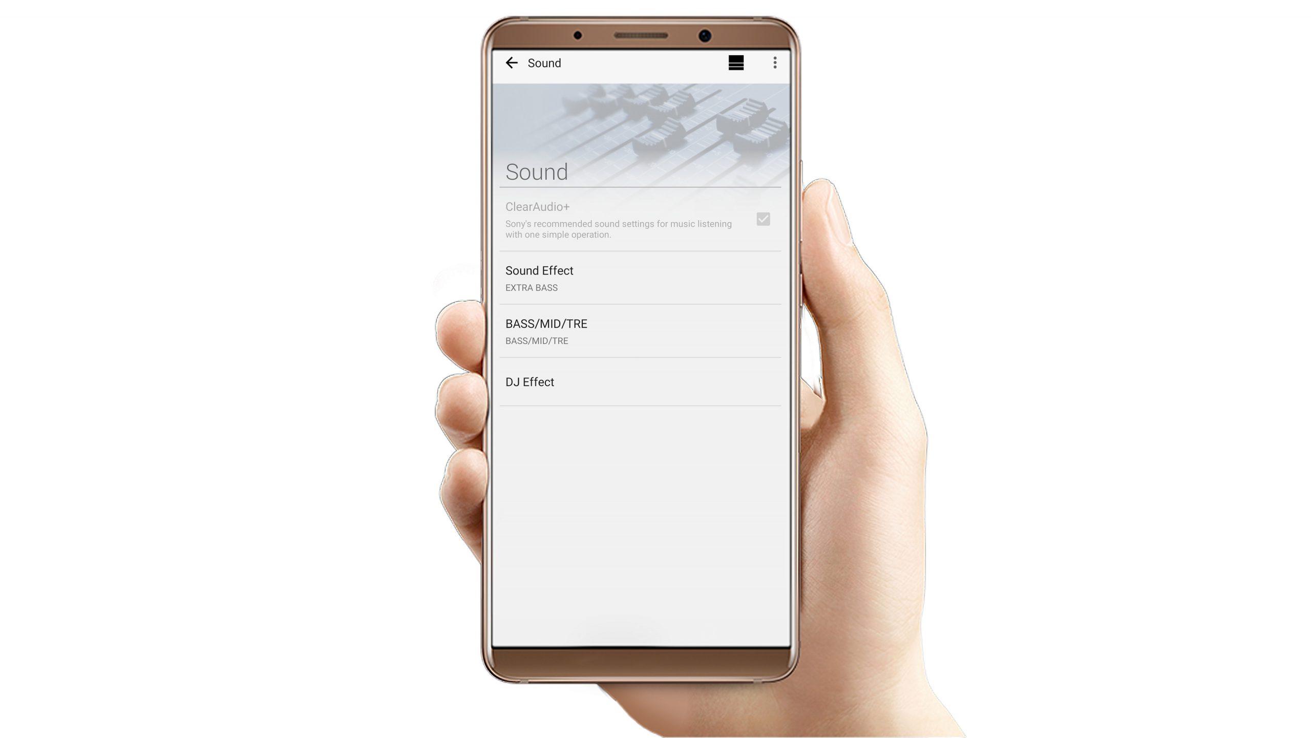 Sony Music Center app