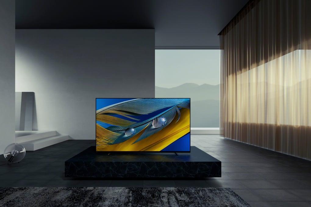Sony Bravia XR A80J room