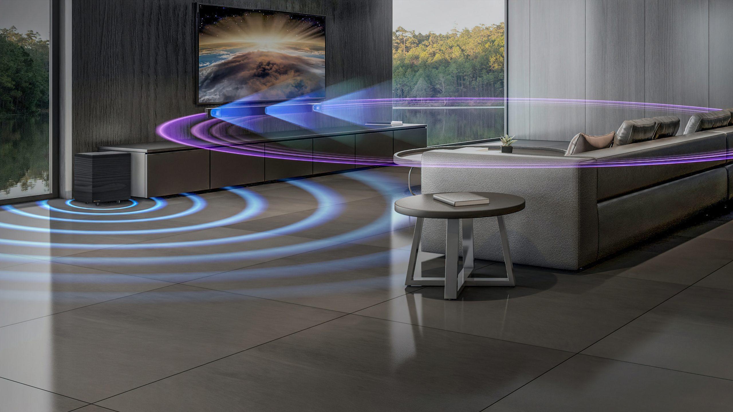Klipsch Cinema 600 surround effect