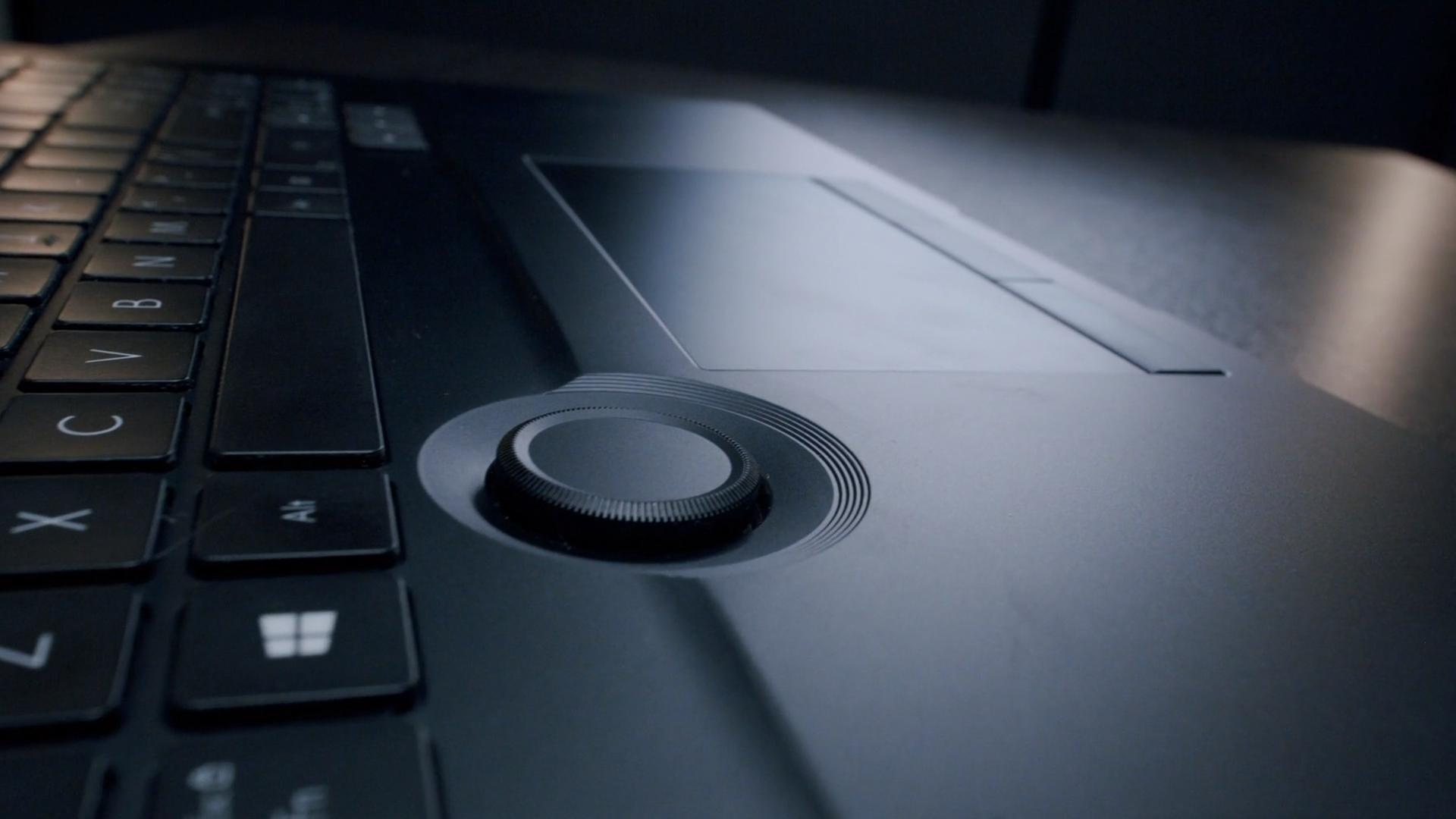 Asus ProArt StudioBook 16 dial
